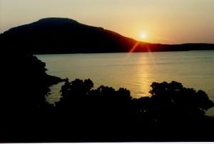 Mount Scott at Sunset