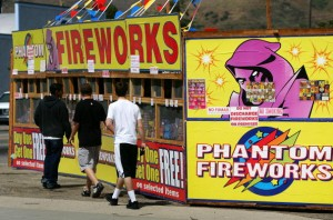Fireworks Sales Flourish Before Independence Day Holiday