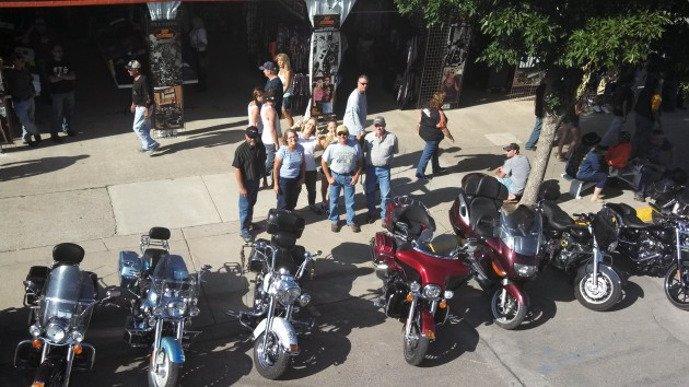 Family at Sturgis