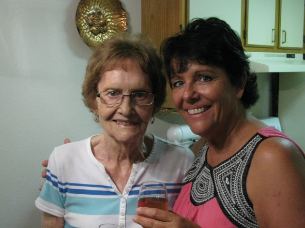 Nancy and her Mom