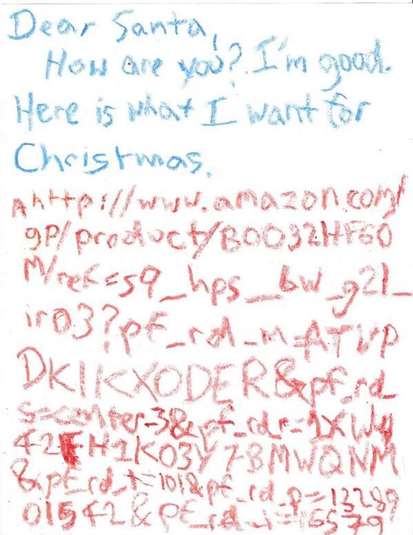 Santa Letter URL