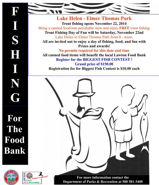 Fishing for the Food Bank @ Elmer Thomas Park | Lawton | Oklahoma | United States