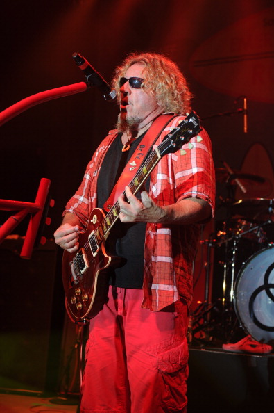 Sammy Hager performs at Sammy's Beach Bar Rum And Cabo Wabo Tequila Present Emeril Lagasse And Sammy Hagar's Rockin' Beach Party Sponsored By Del Monte Fresh Produce - Food Network South Beach Wine & Food Festival
